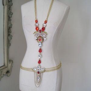 Jewelry - NEW body chain necklace
